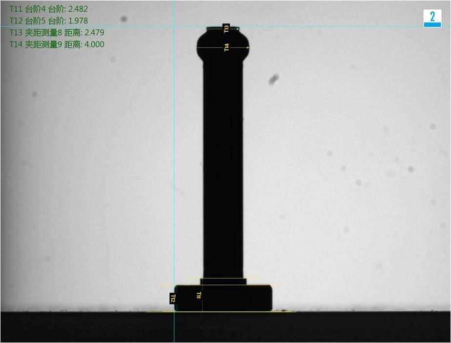 中心柱机器视觉检测方案